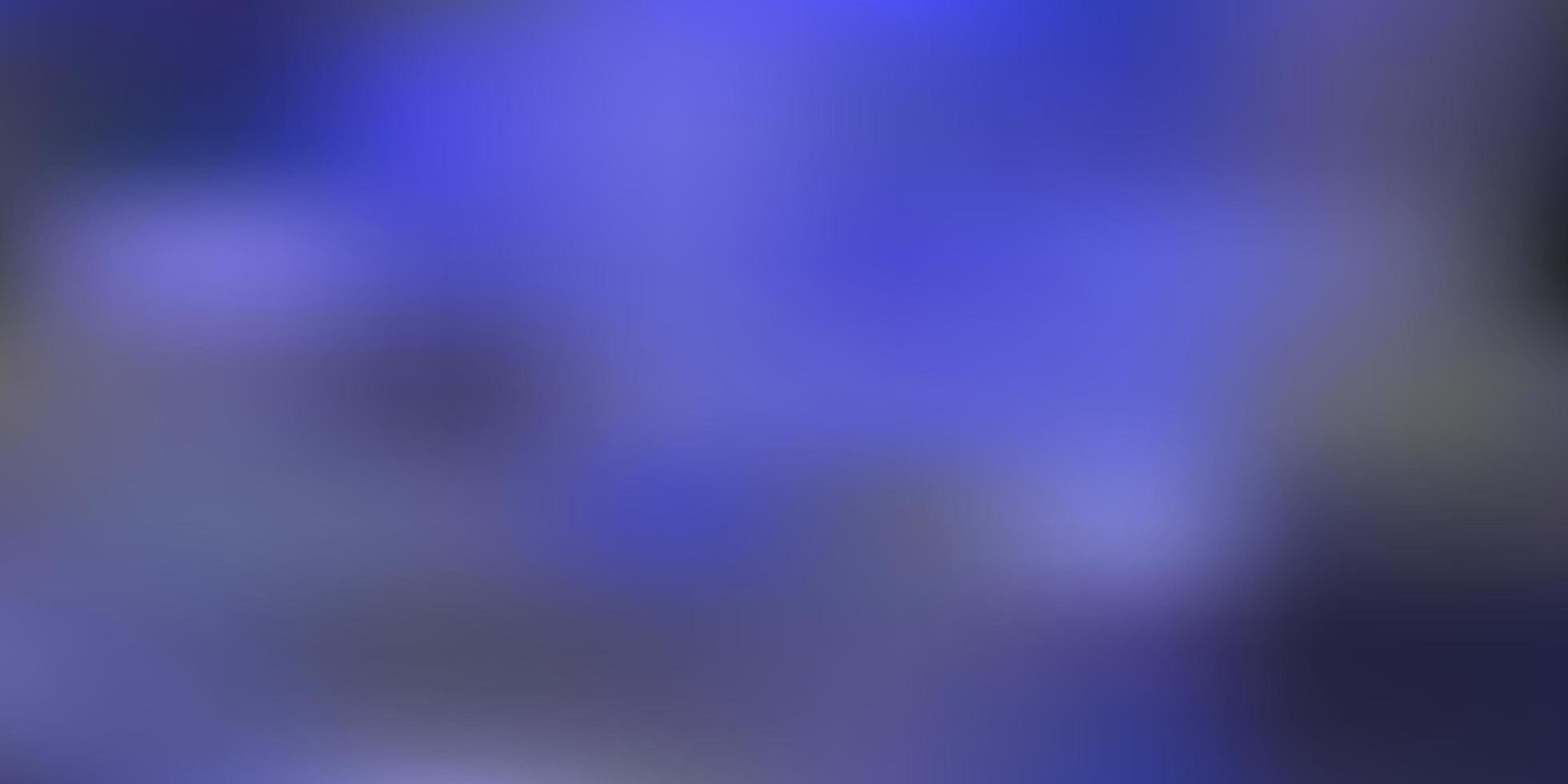 Dark blue vector abstract blur backdrop.