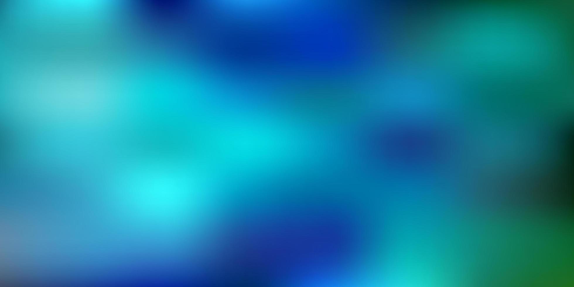 dibujo de desenfoque degradado vectorial azul claro, verde. vector
