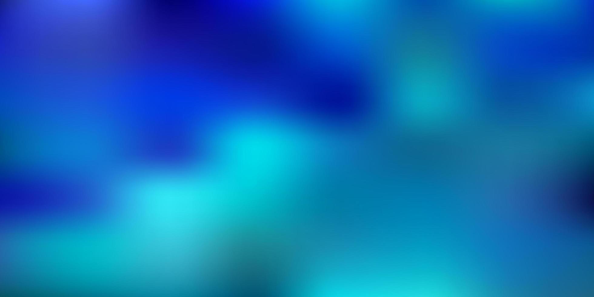 plantilla de desenfoque de vector azul claro.