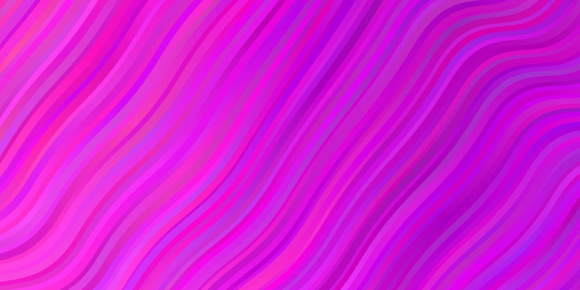 Light Pink vector background with wry lines.