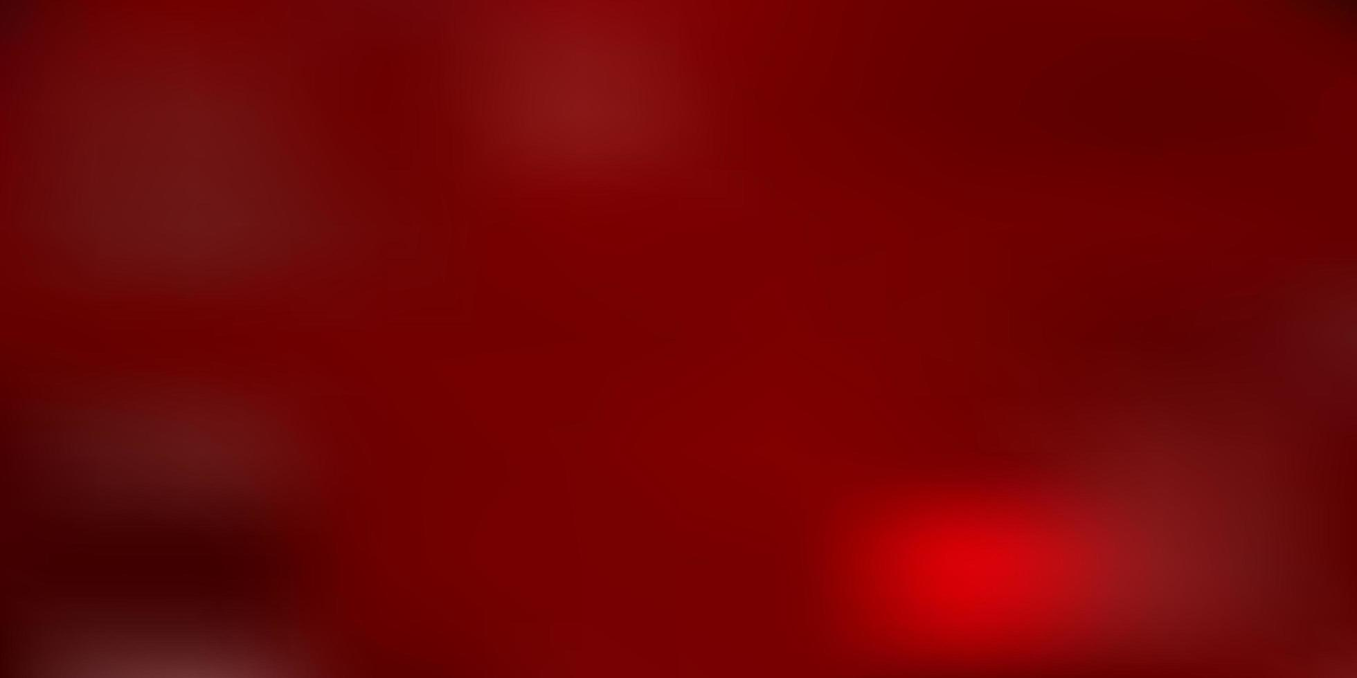 gradiente de vector rojo claro desenfoque de fondo.