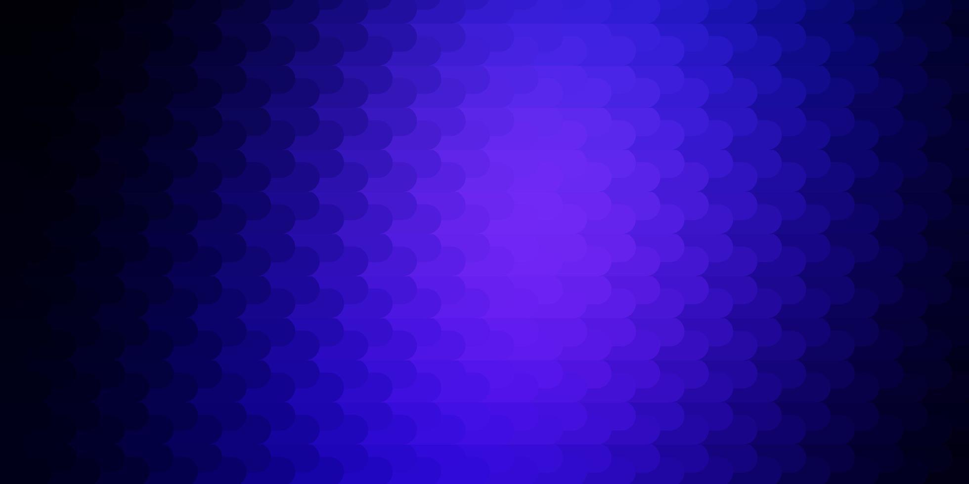 patrón de vector azul oscuro con líneas.