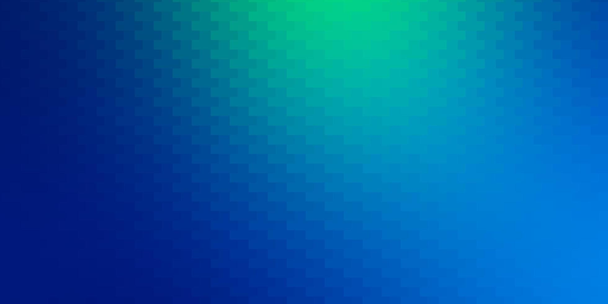 Light Blue, Green vector layout with lines, rectangles.