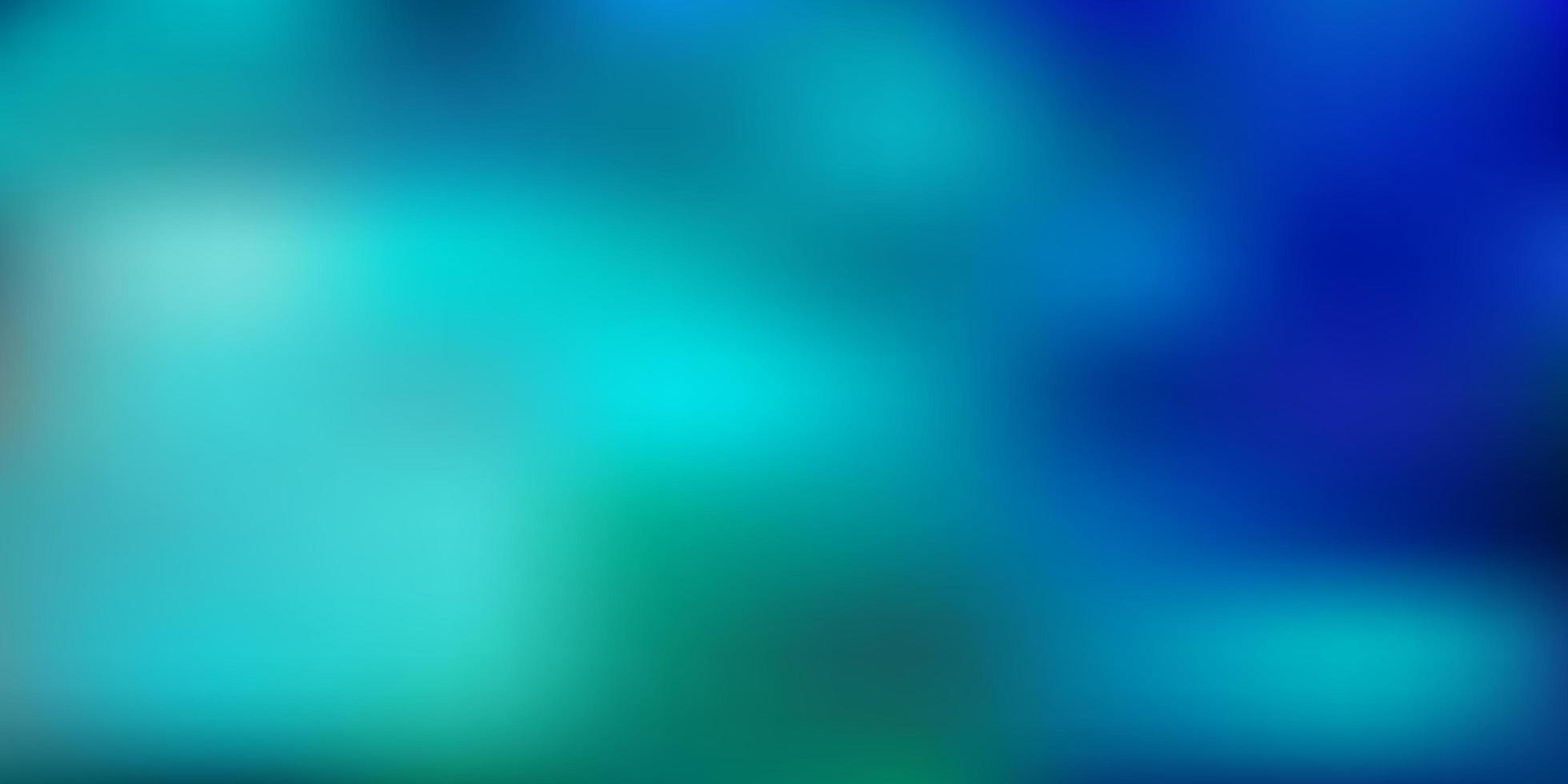 Light blue, green vector blurred background.