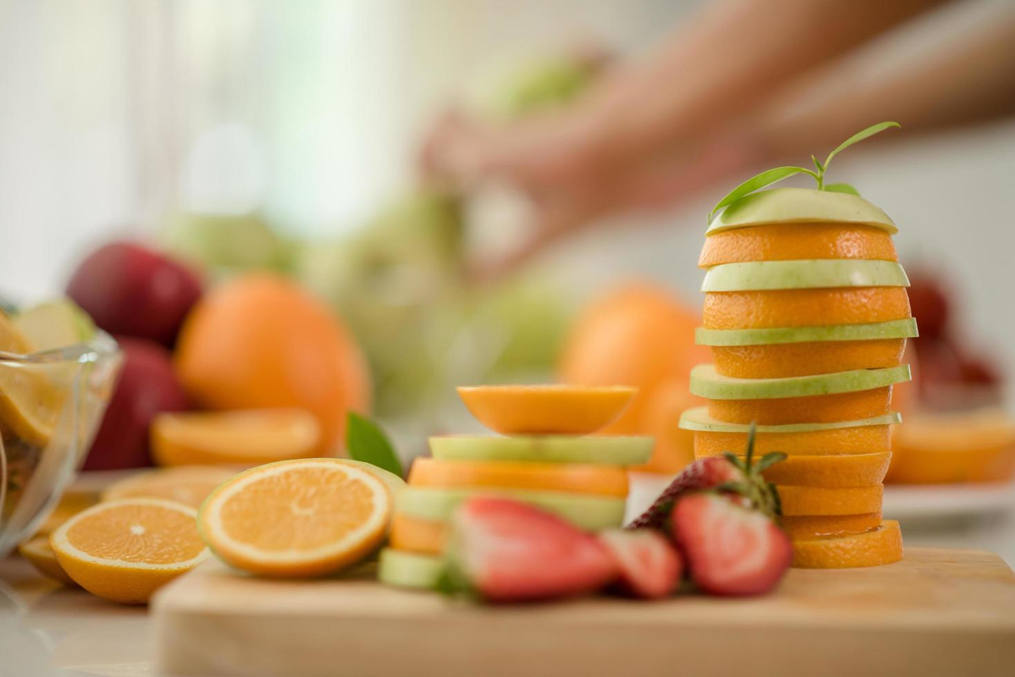 A variety of fresh fruit photo