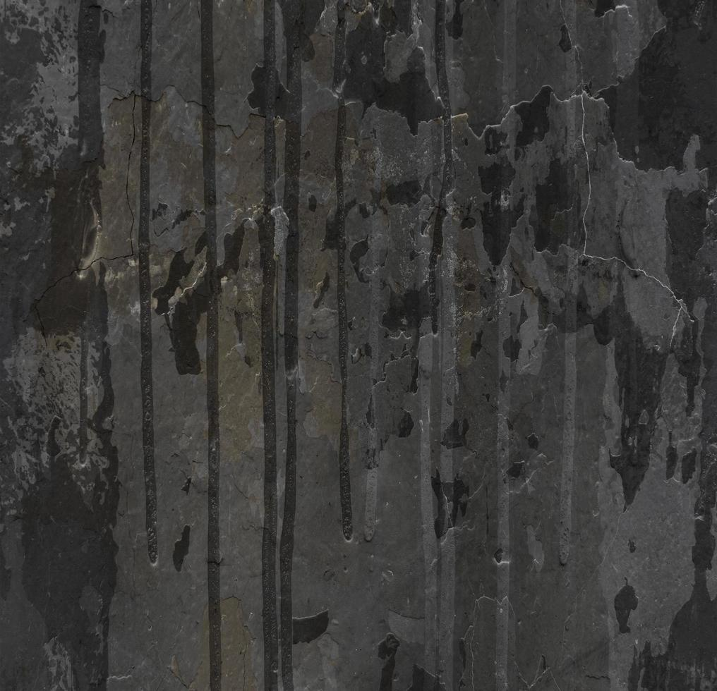 Paint drips on grunge wall texture photo