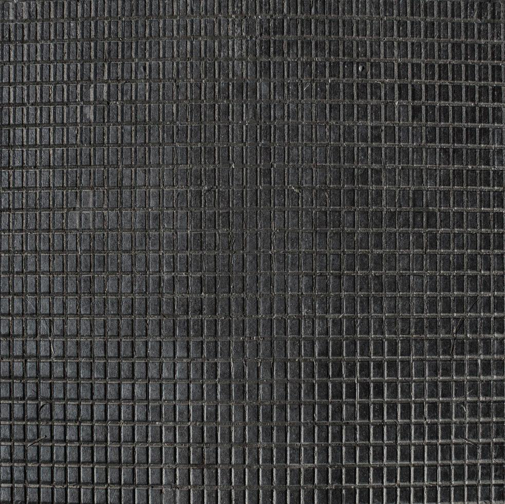 Black tiled texture photo