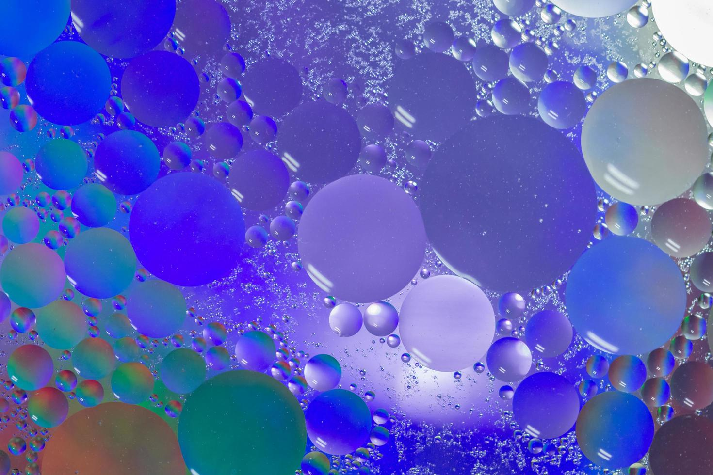 Oil and Water Abstract Macro Background photo