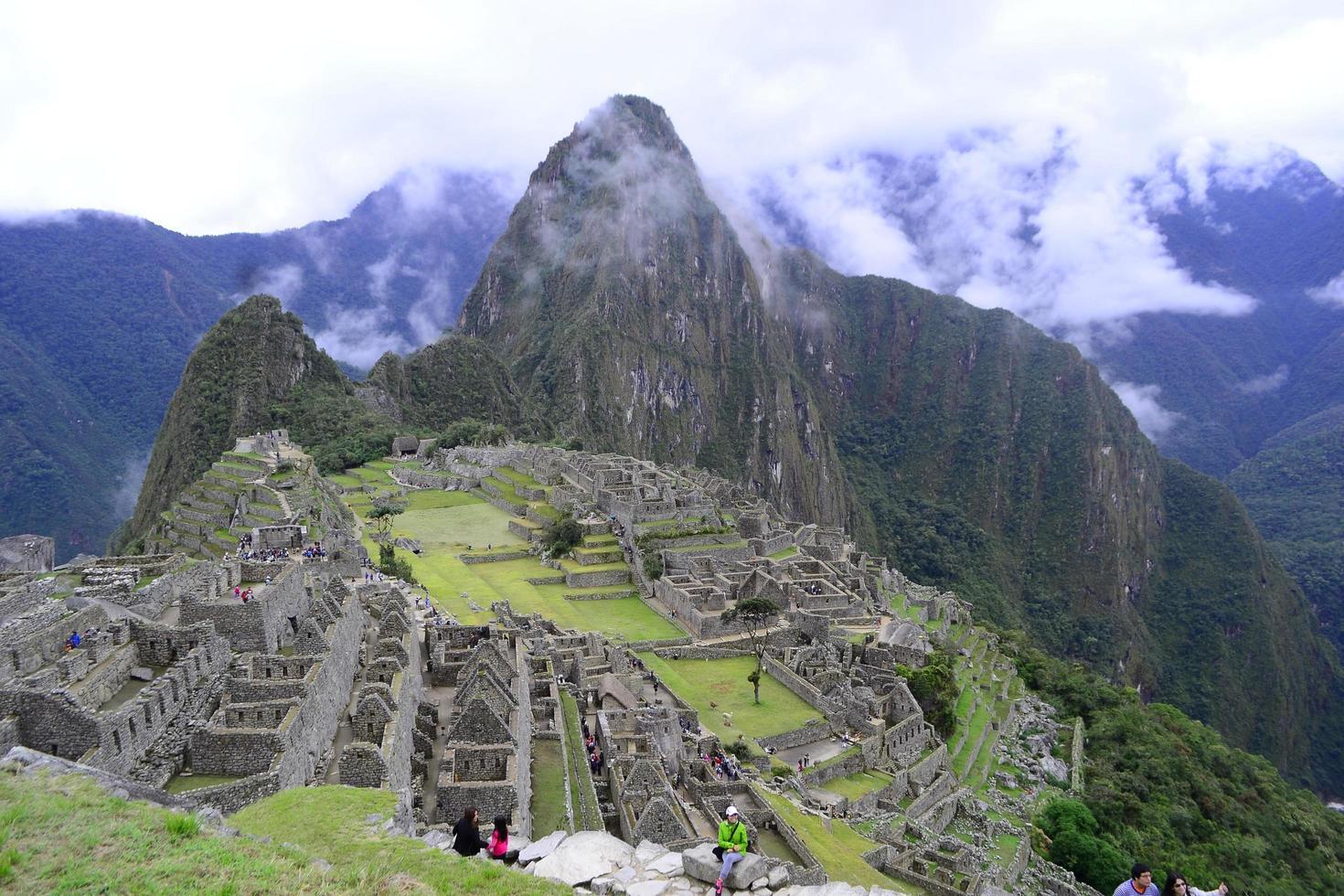 Machu Picchu mountain photo