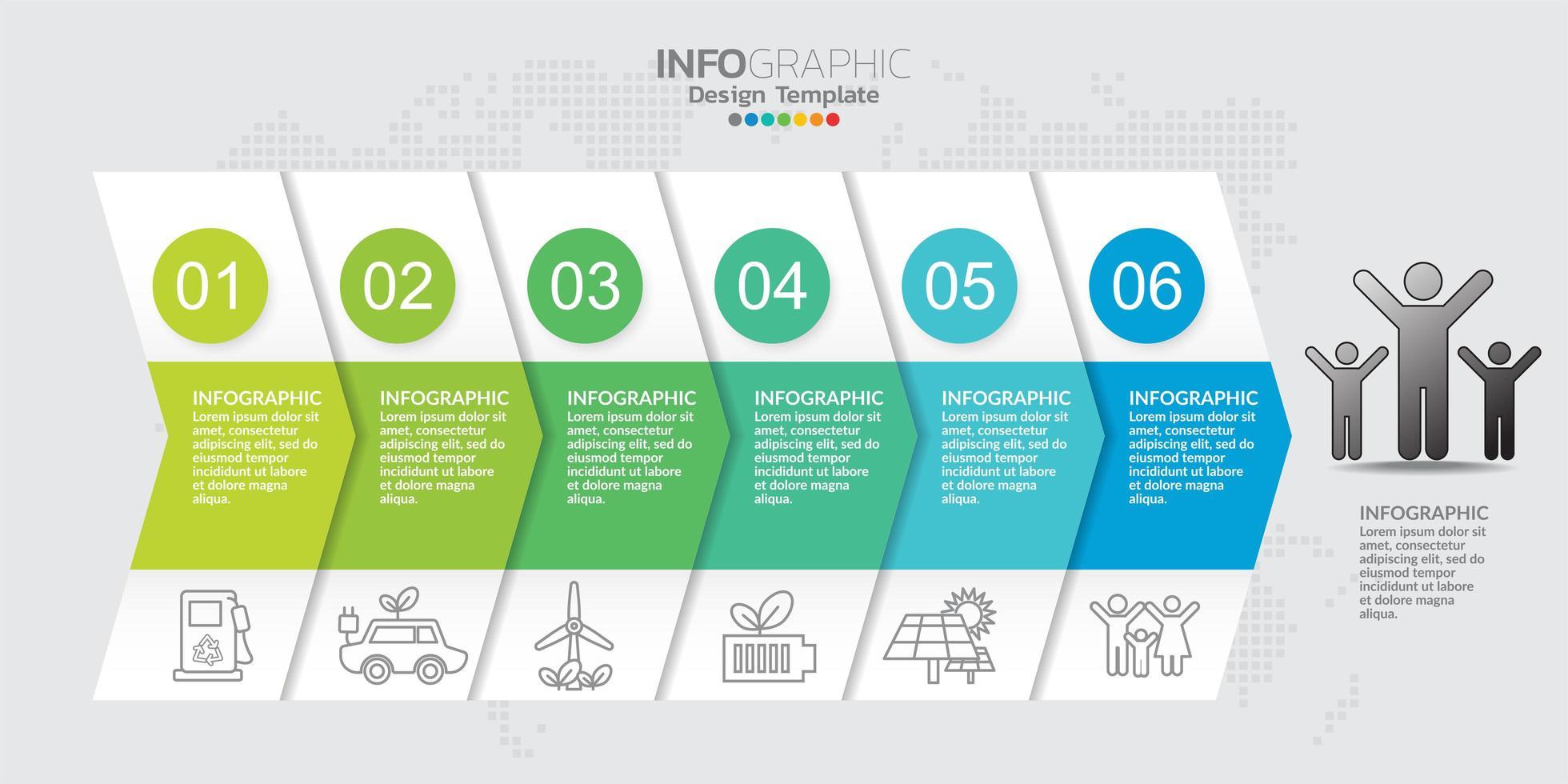 Infographic elements for content, diagram, flowchart, steps, parts, timeline, workflow, chart. vector