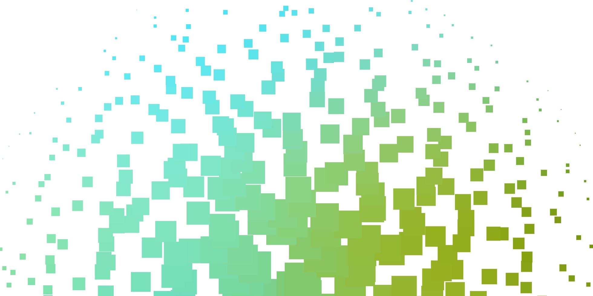 Light Blue, Green vector pattern in square style.