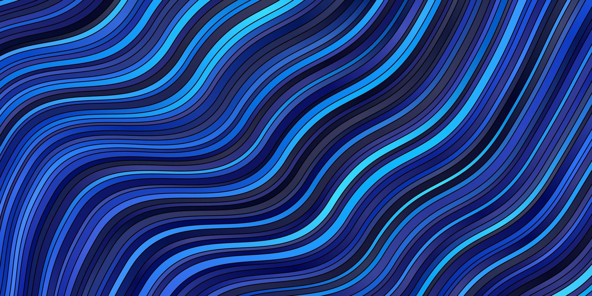 Light BLUE vector pattern with curves.