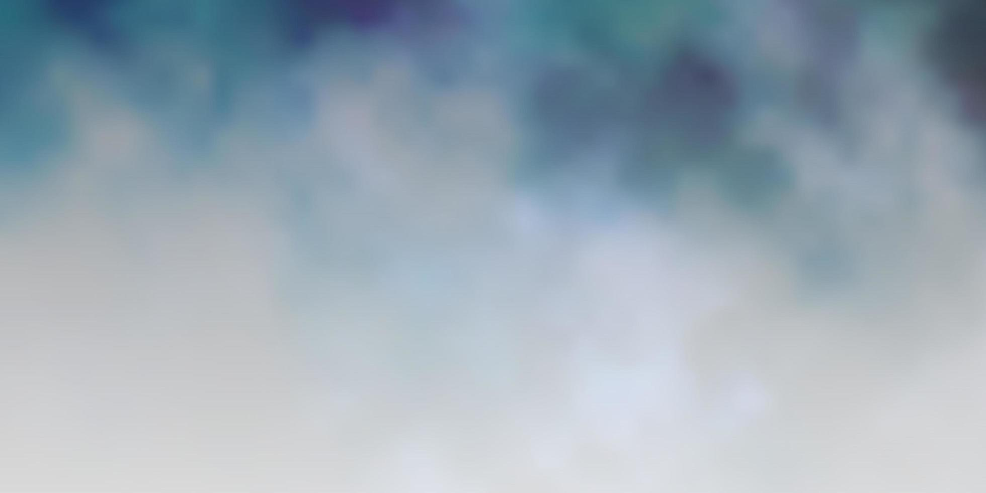 Dark BLUE vector layout with cloudscape.