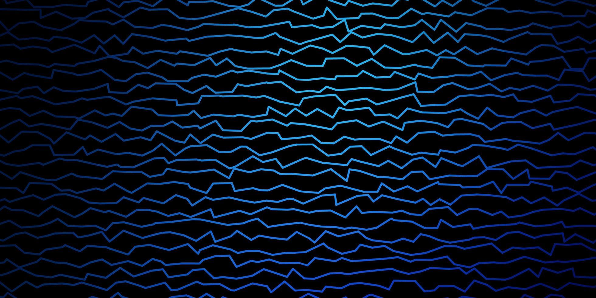 Dark BLUE vector backdrop with circular arc.