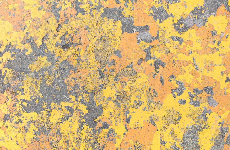 Yellow grunge wall texture photo