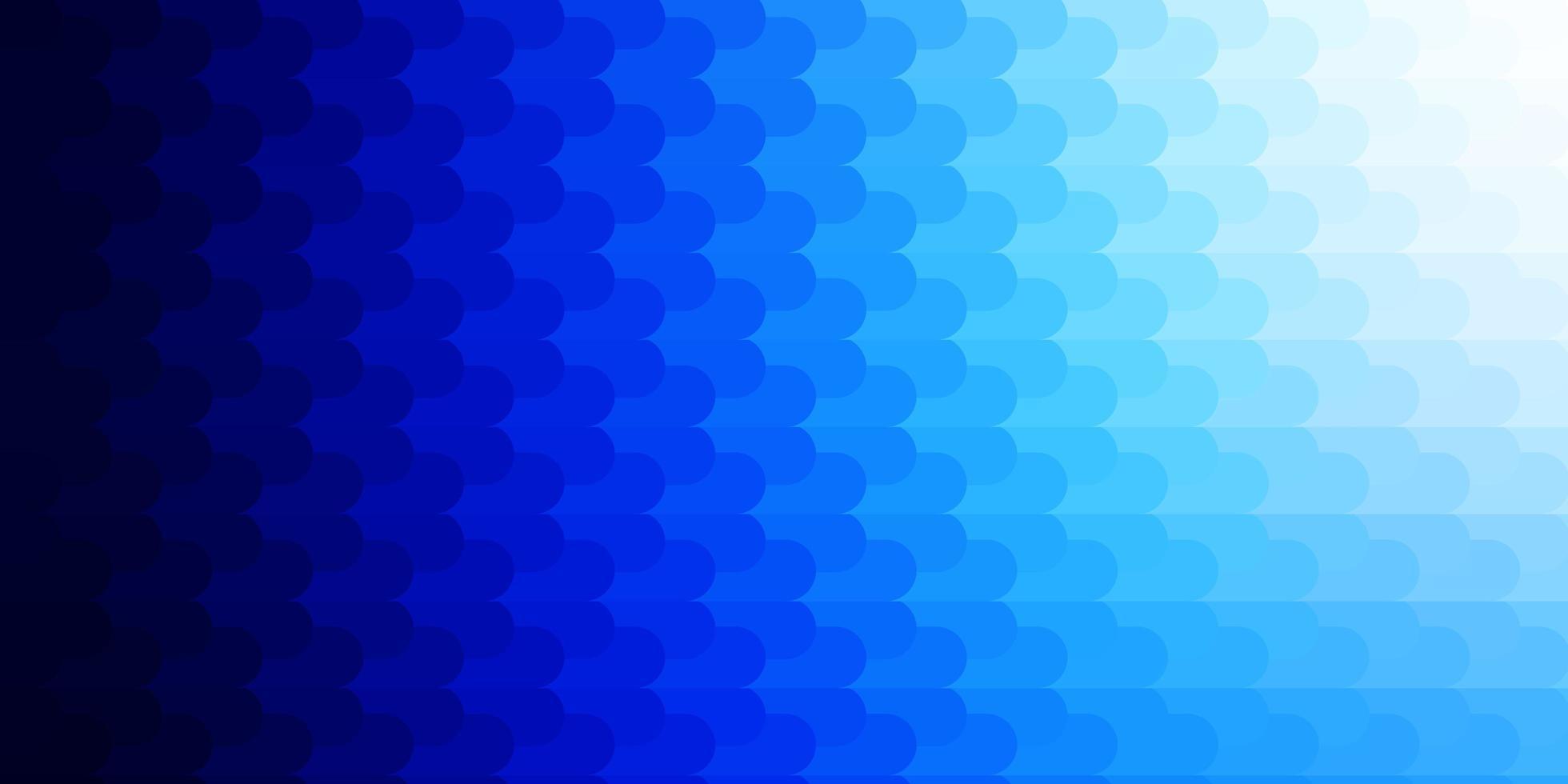 patrón de vector azul claro con líneas.