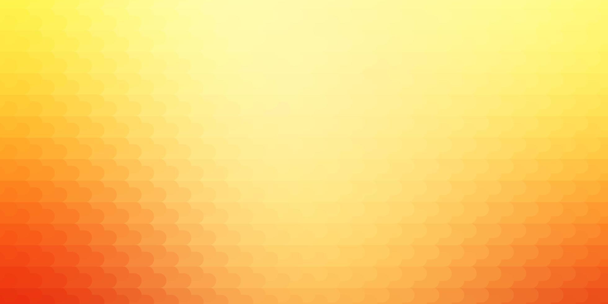Fondo de vector rojo, amarillo claro con líneas.