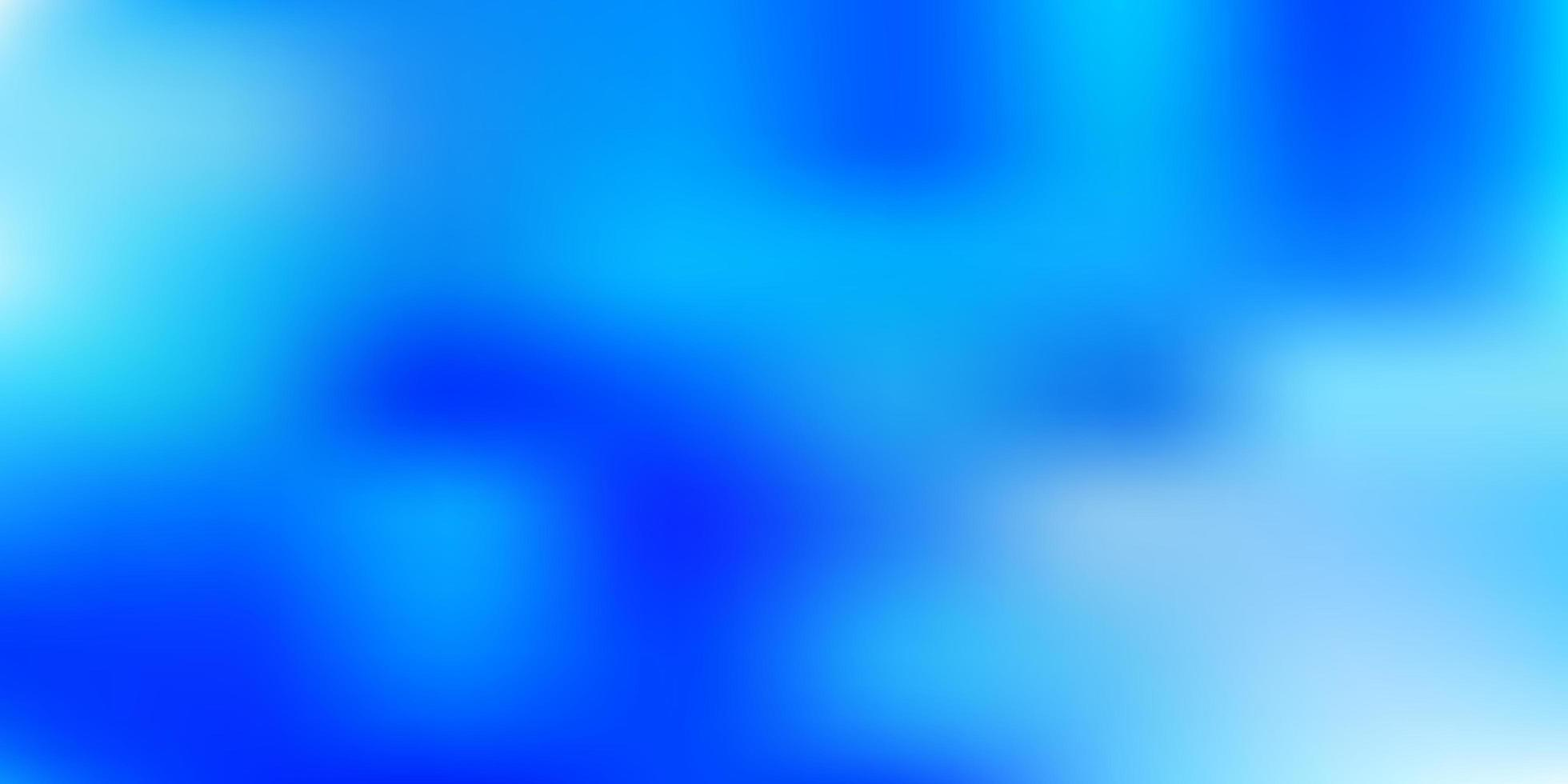 patrón de desenfoque degradado de vector azul claro.