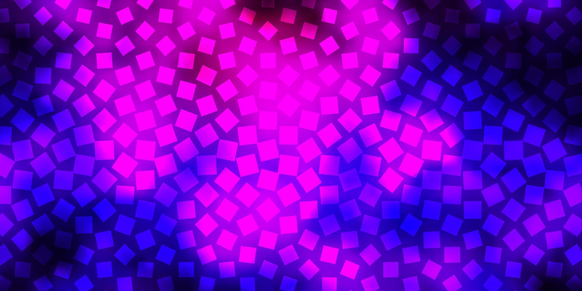 plantilla de vector de color púrpura claro con rectángulos.