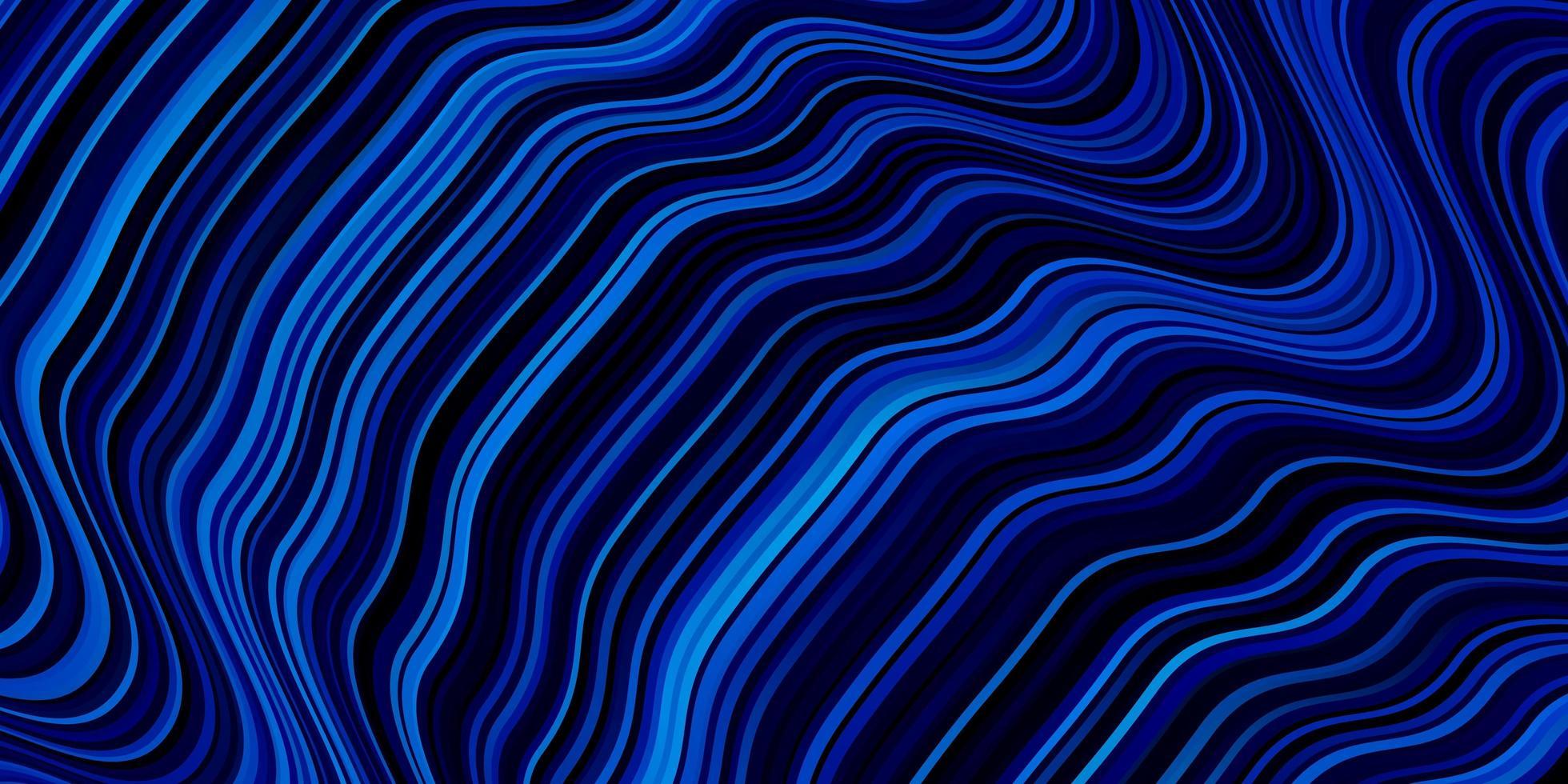 diseño de vector azul claro con líneas torcidas.