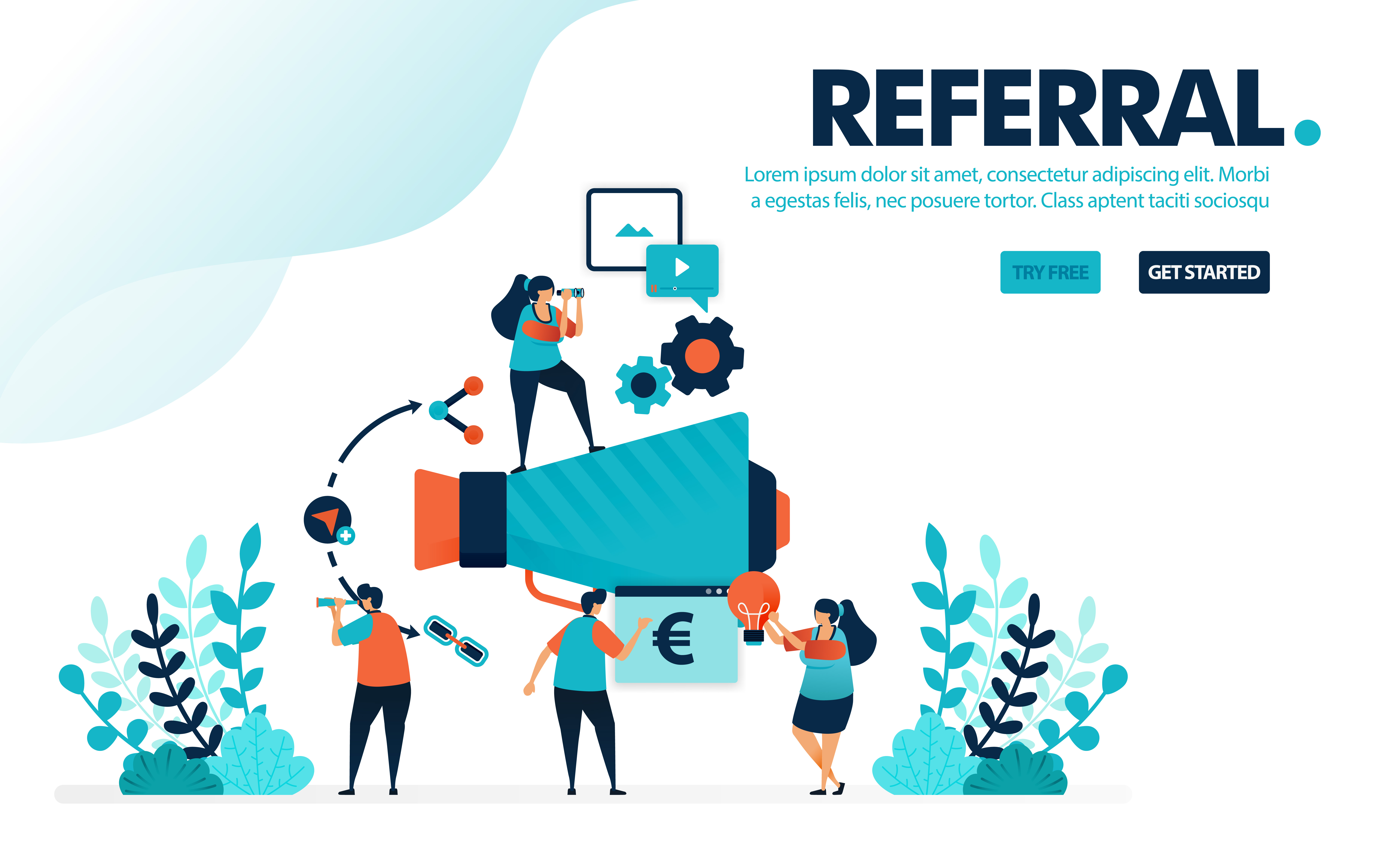 Program template referral 10 Free