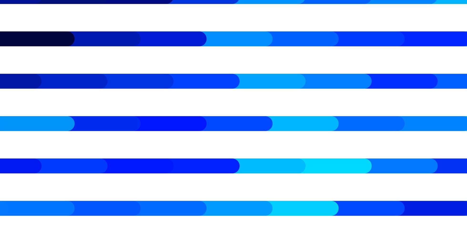 Telón de fondo de vector azul claro con líneas.