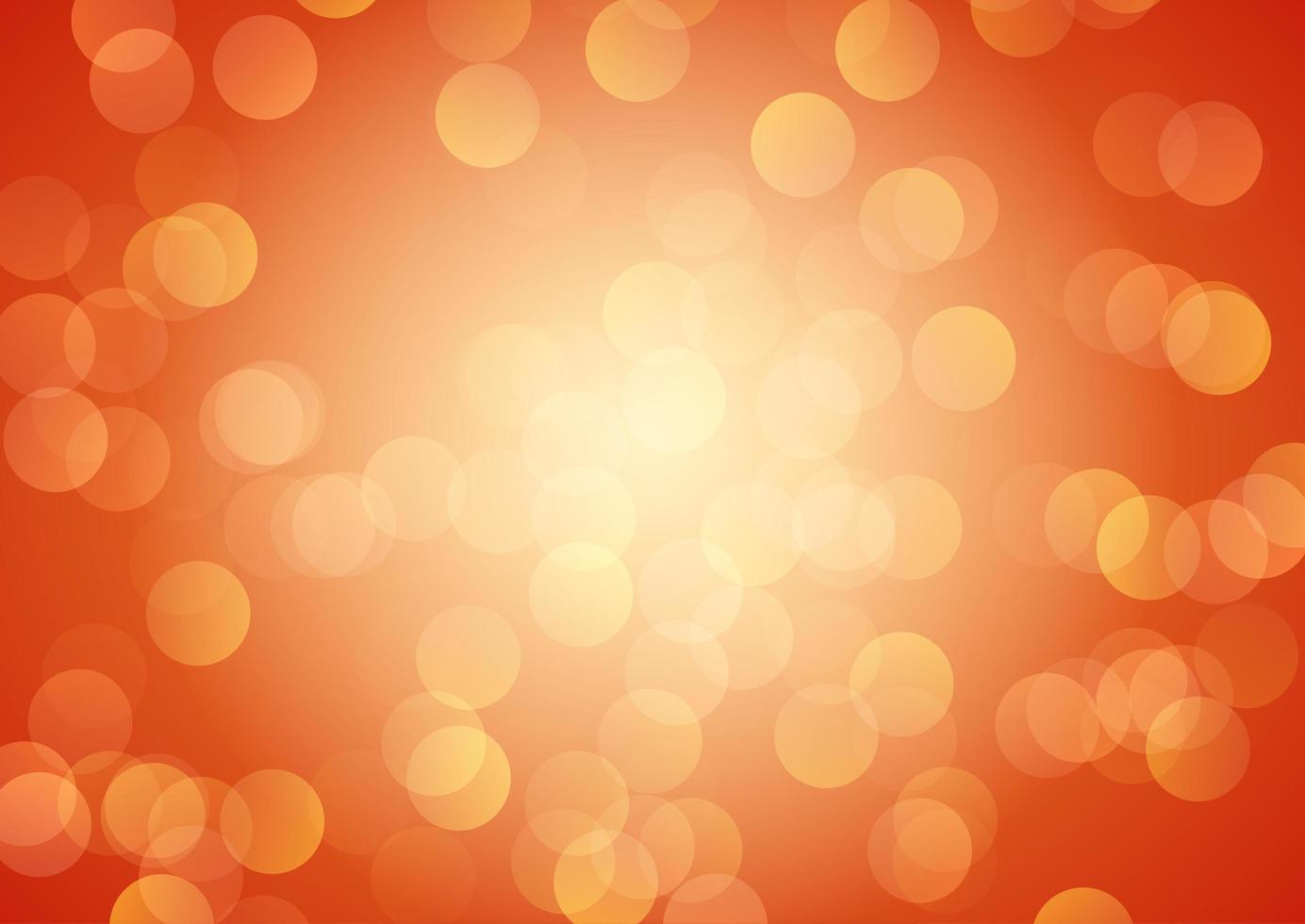 Festive bokeh lights design vector