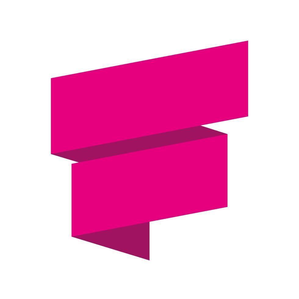 ribbon sales banner colors poster vector