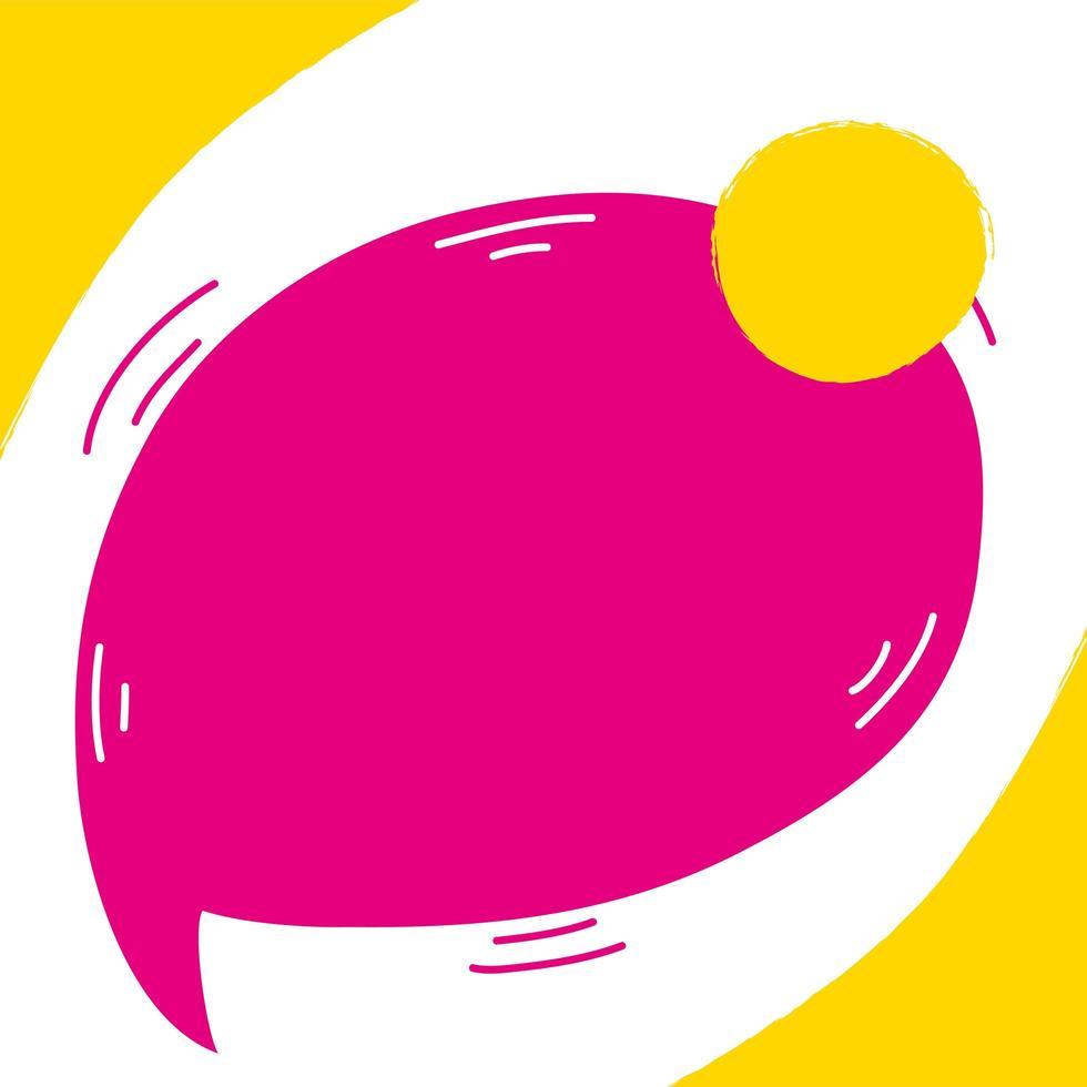 speech bubble sales banner poster vector