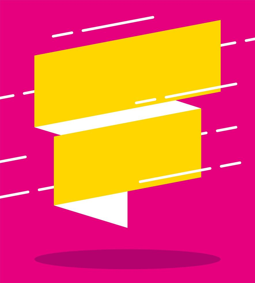 cartel de colores de banner de ventas de cinta vector
