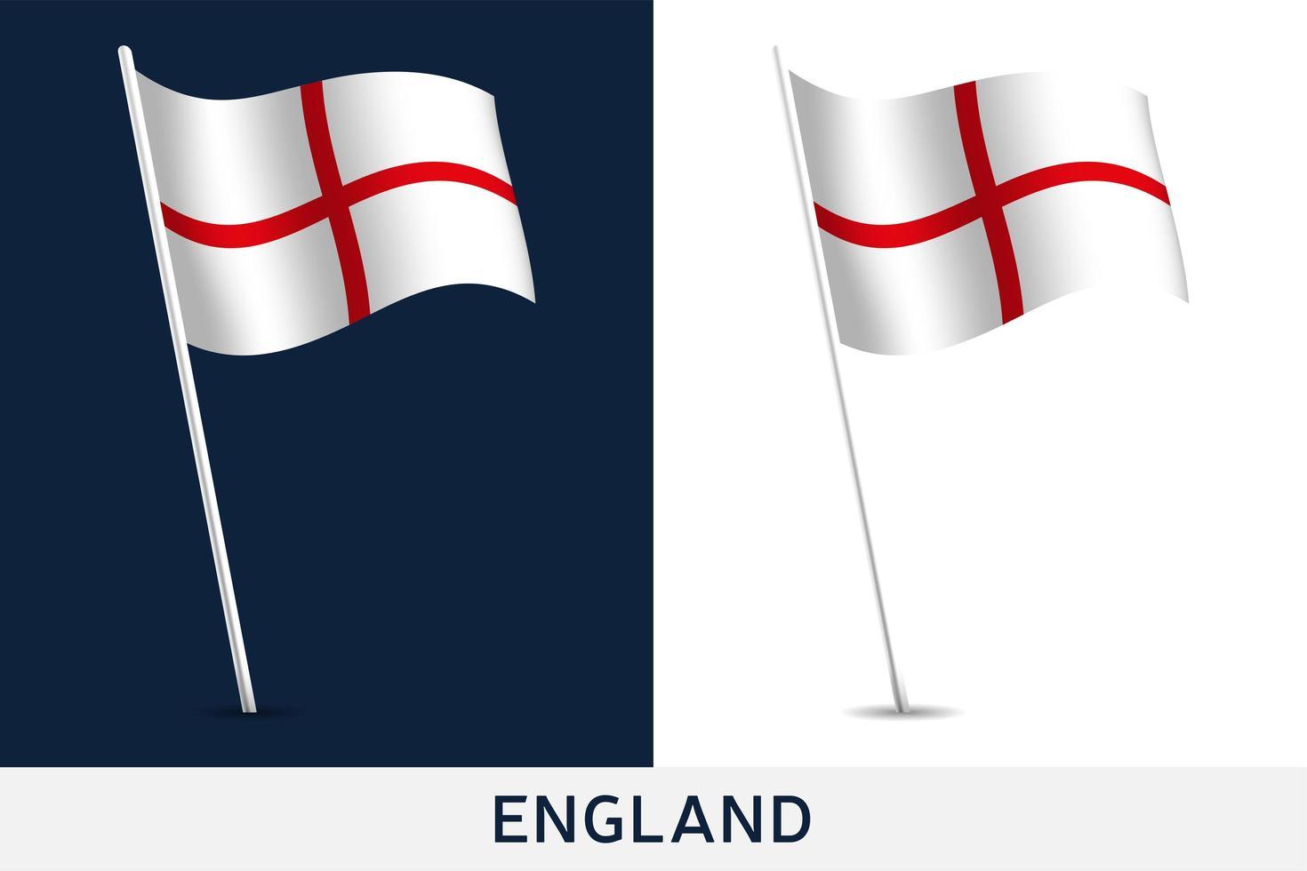 bandera de inglaterra vector