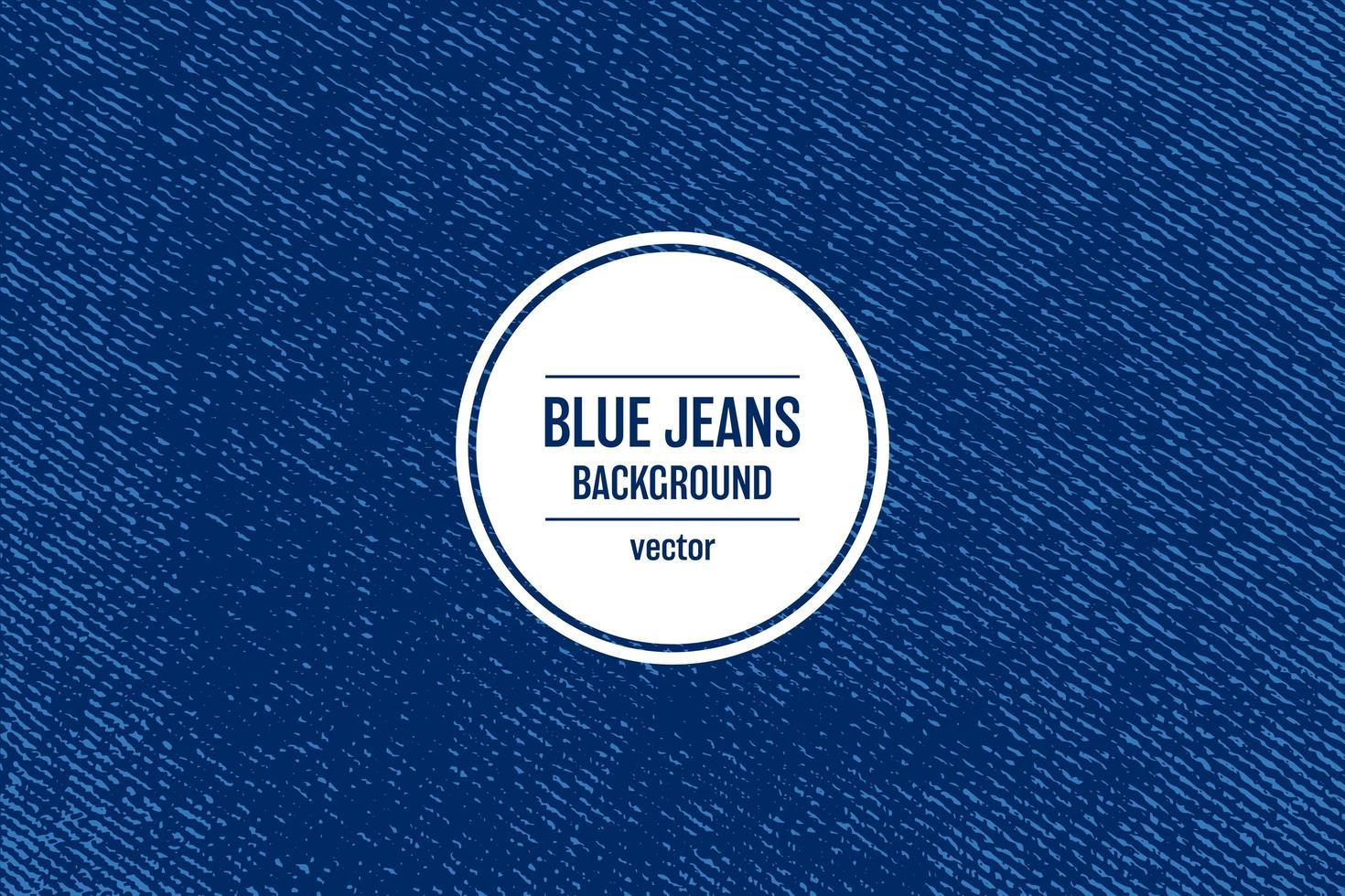 Ilustración de diseño de vector de fondo de textura de jeans