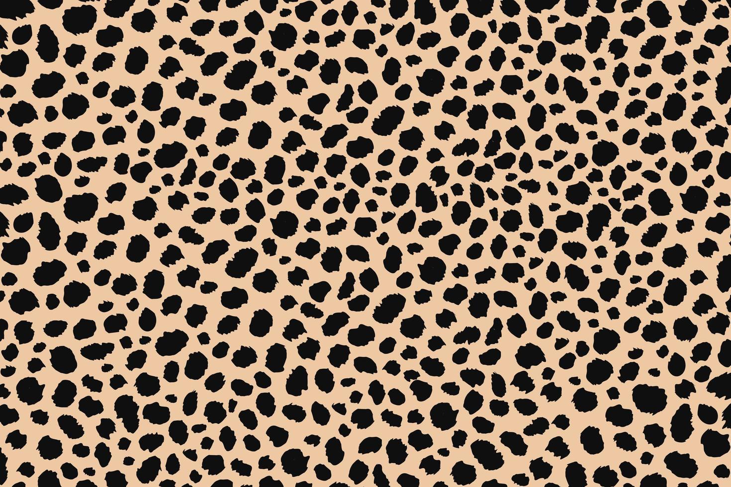 diseño de estampado animal de puntos abstractos. diseño de estampado de leopardo. Fondo de piel de guepardo. vector