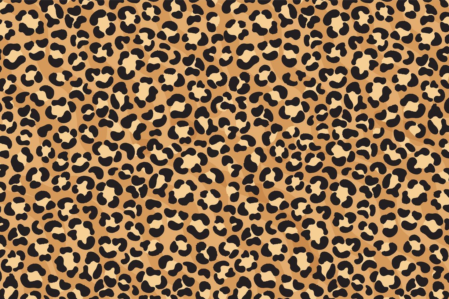 Leopard print design. Cheetah skin. Animal print. vector