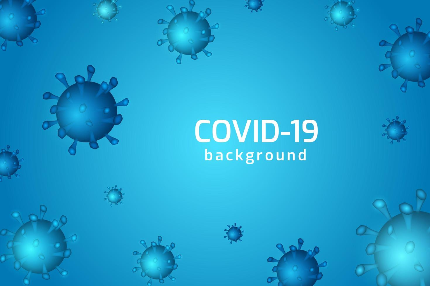 Virus infection or bacteria cells background. vector