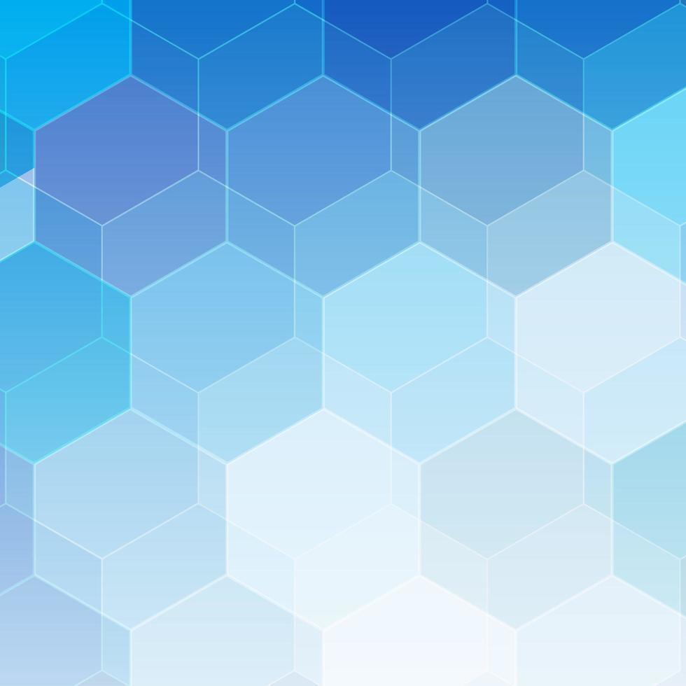 Fondo colorido hexagonal. papel pintado abstracto de panal vector