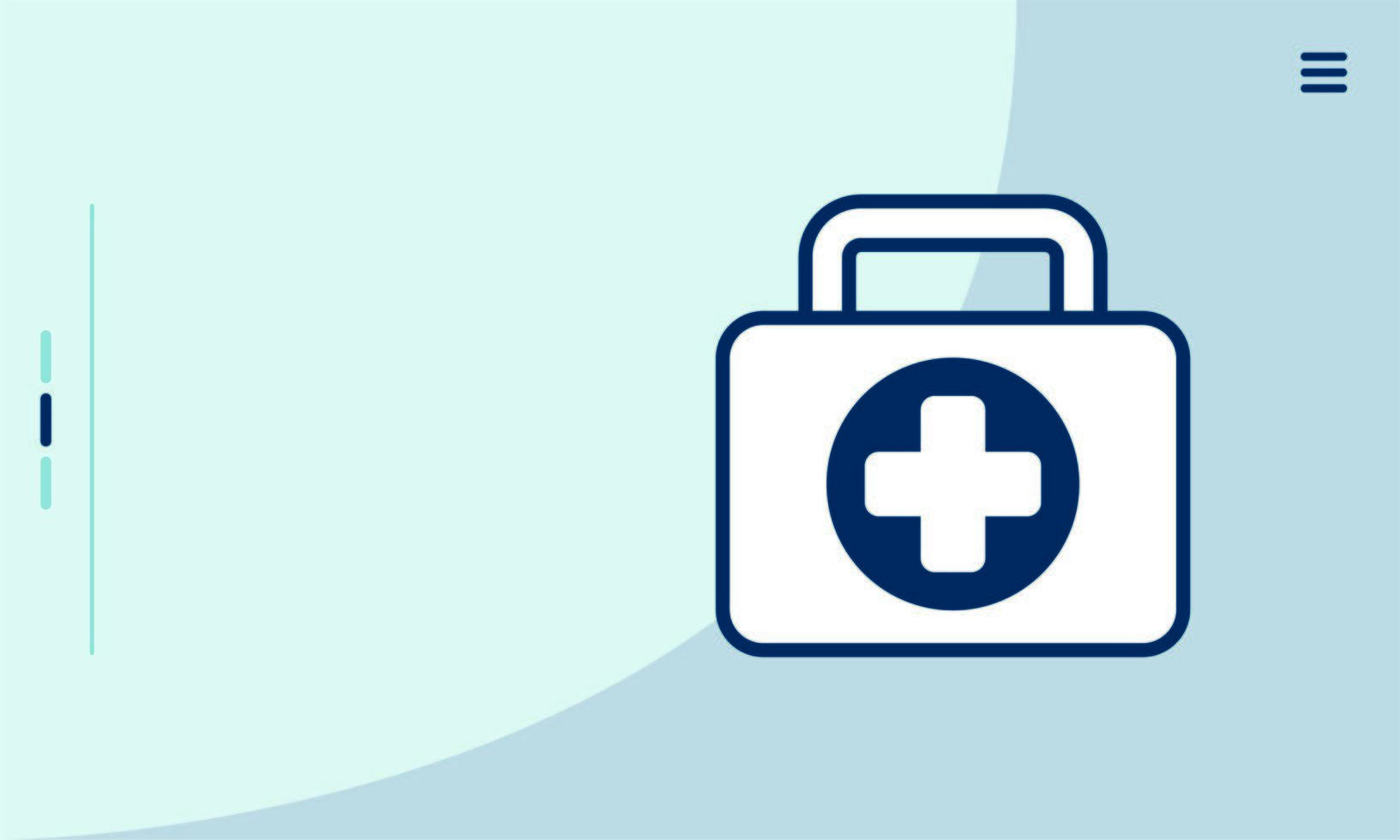 medical kit isolated style icon vector