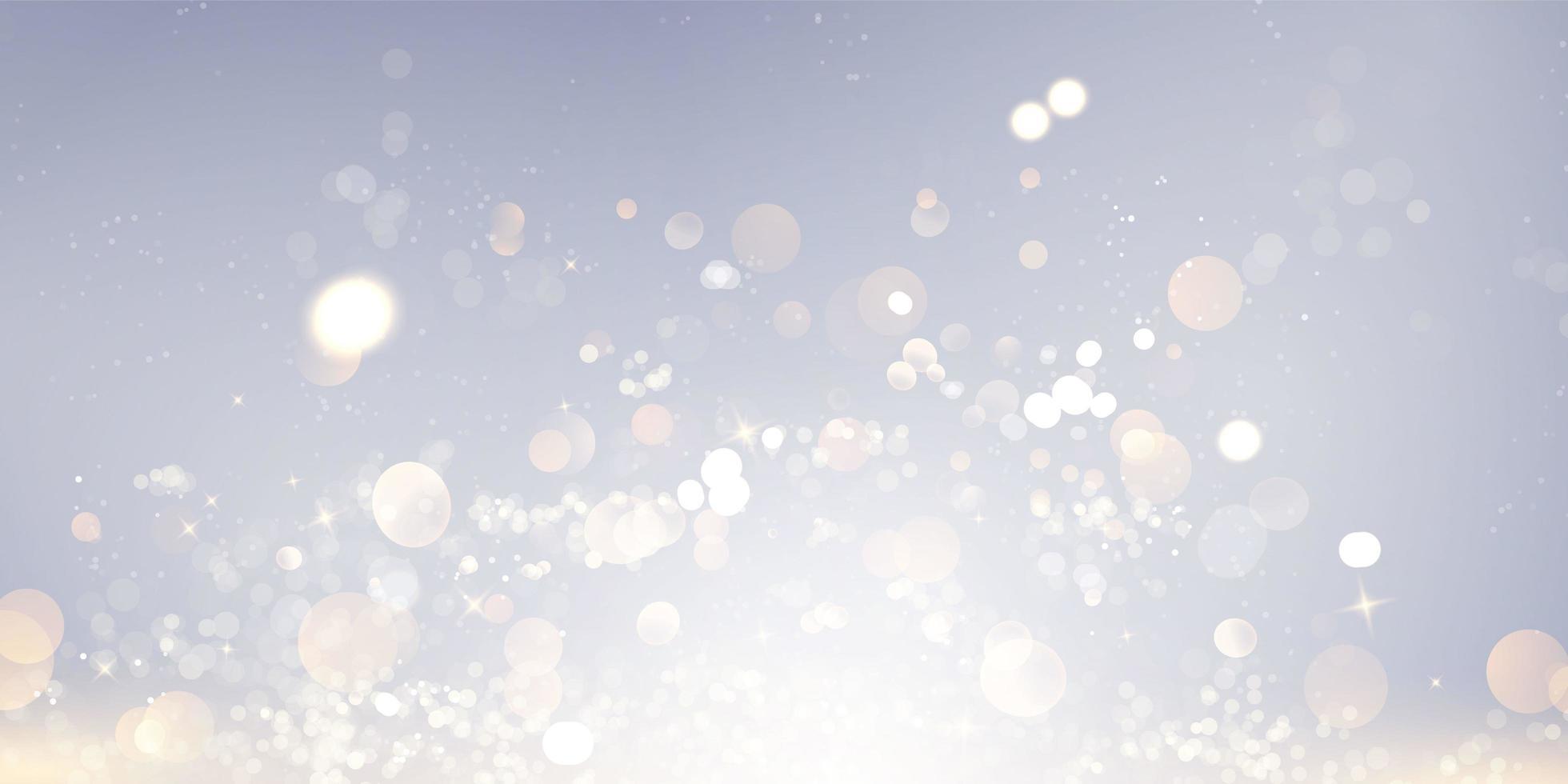 elemento de luz borrosa abstracta que se puede utilizar para el fondo decorativo de bokeh. vector