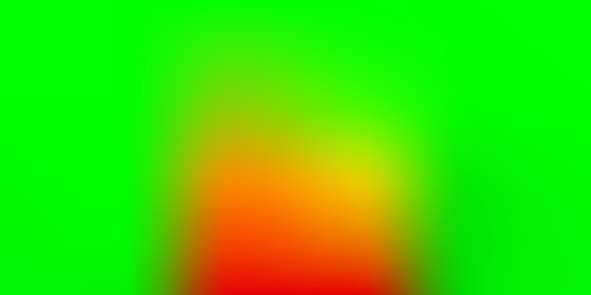 Light Green, Red vector gradient blur texture.