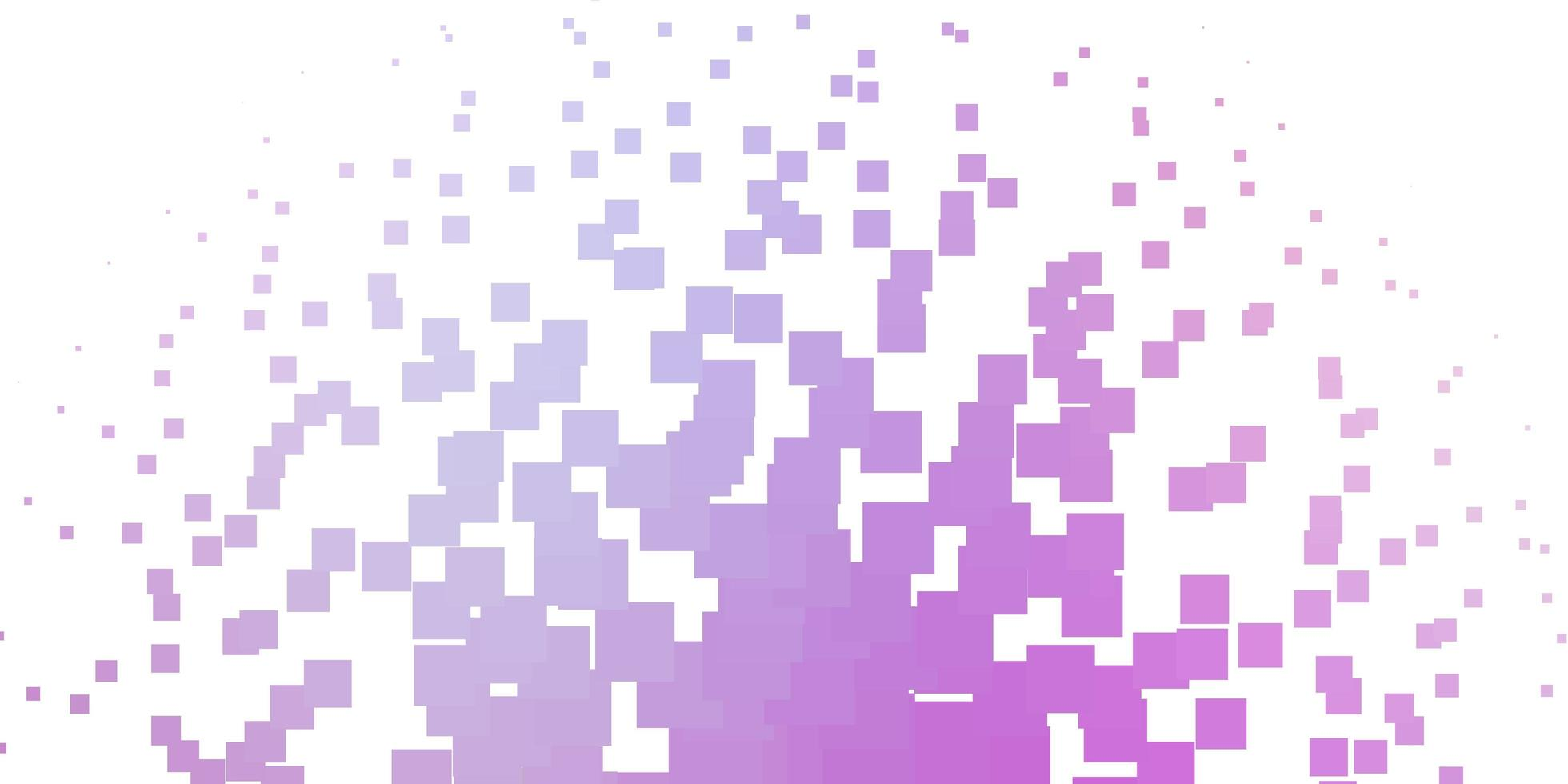 Light Purple, Pink vector background with rectangles.