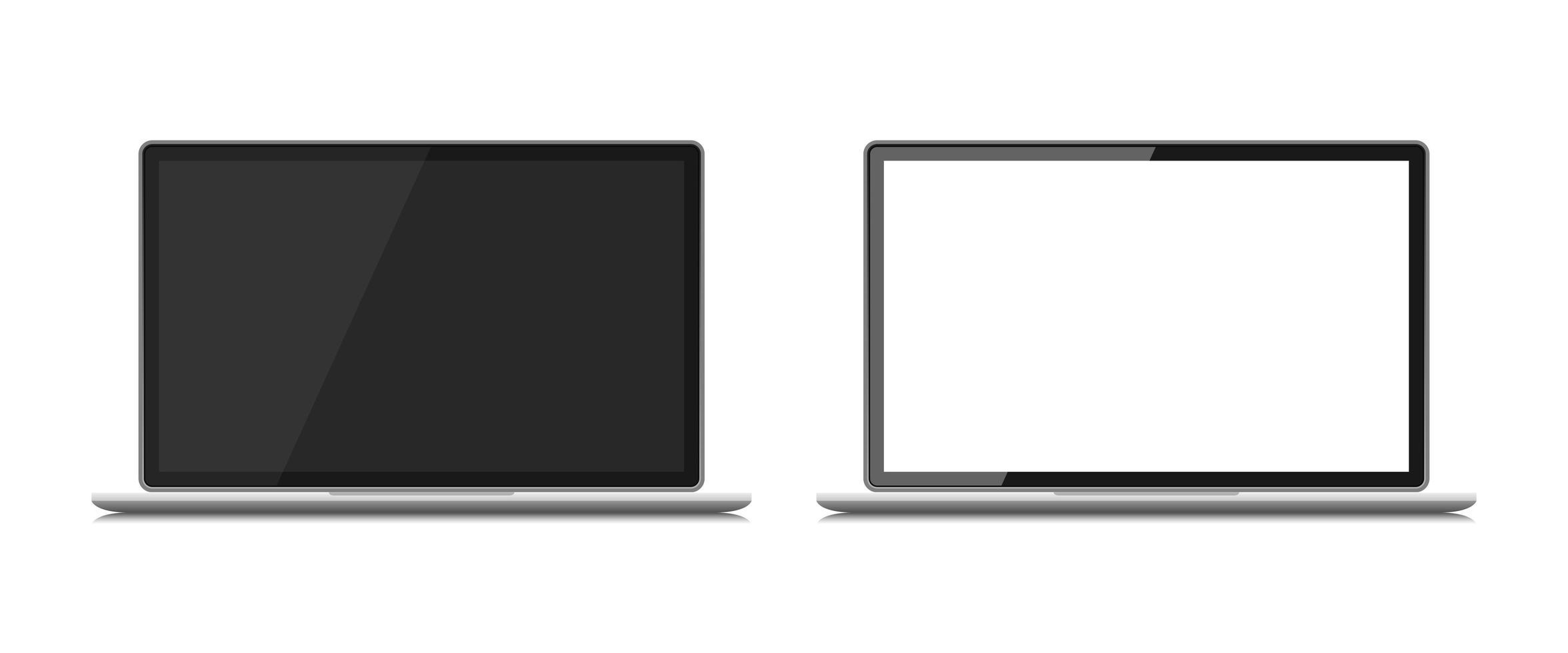 Ilustración de diseño de vector de dispositivo portátil aislado sobre fondo blanco
