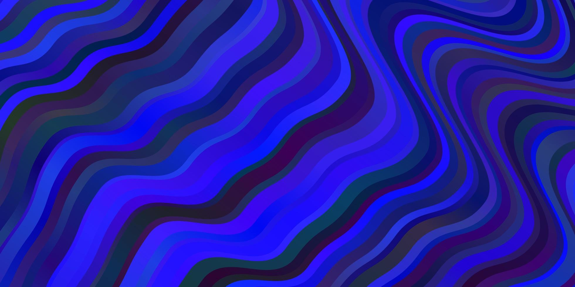 Dark BLUE vector texture with wry lines.
