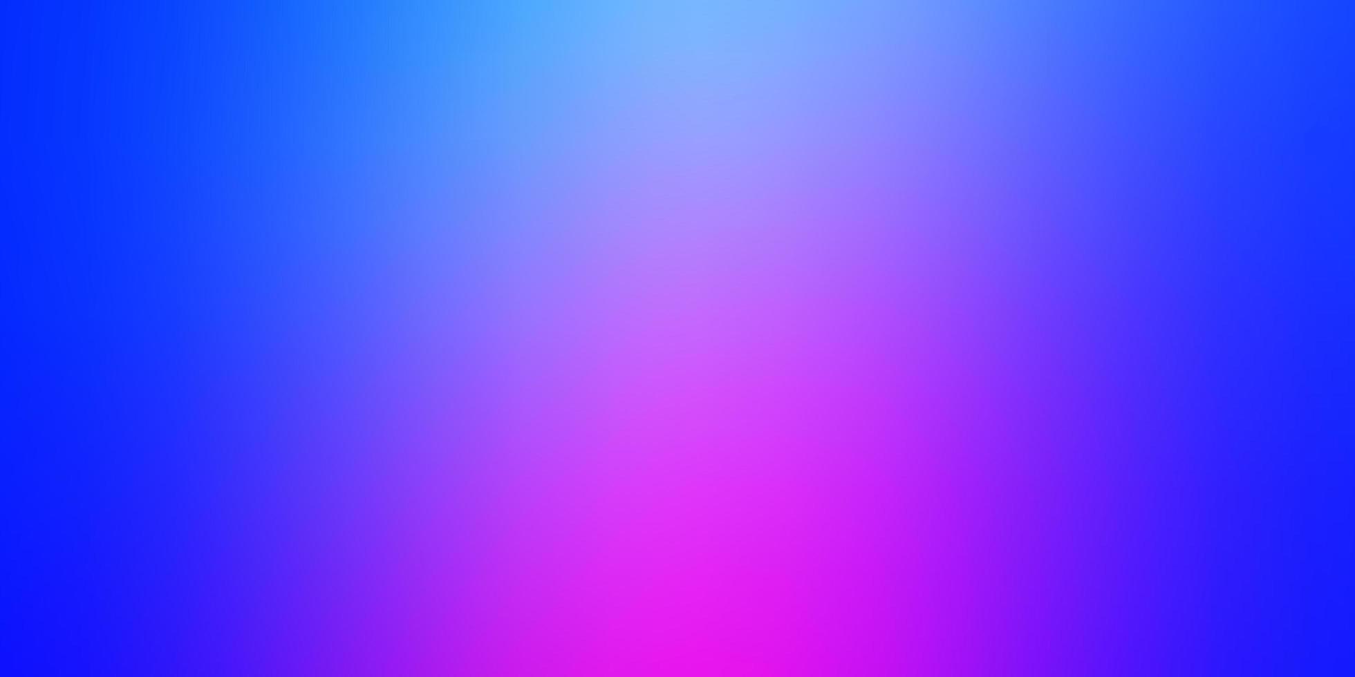 plantilla borrosa vector rosa claro, azul.