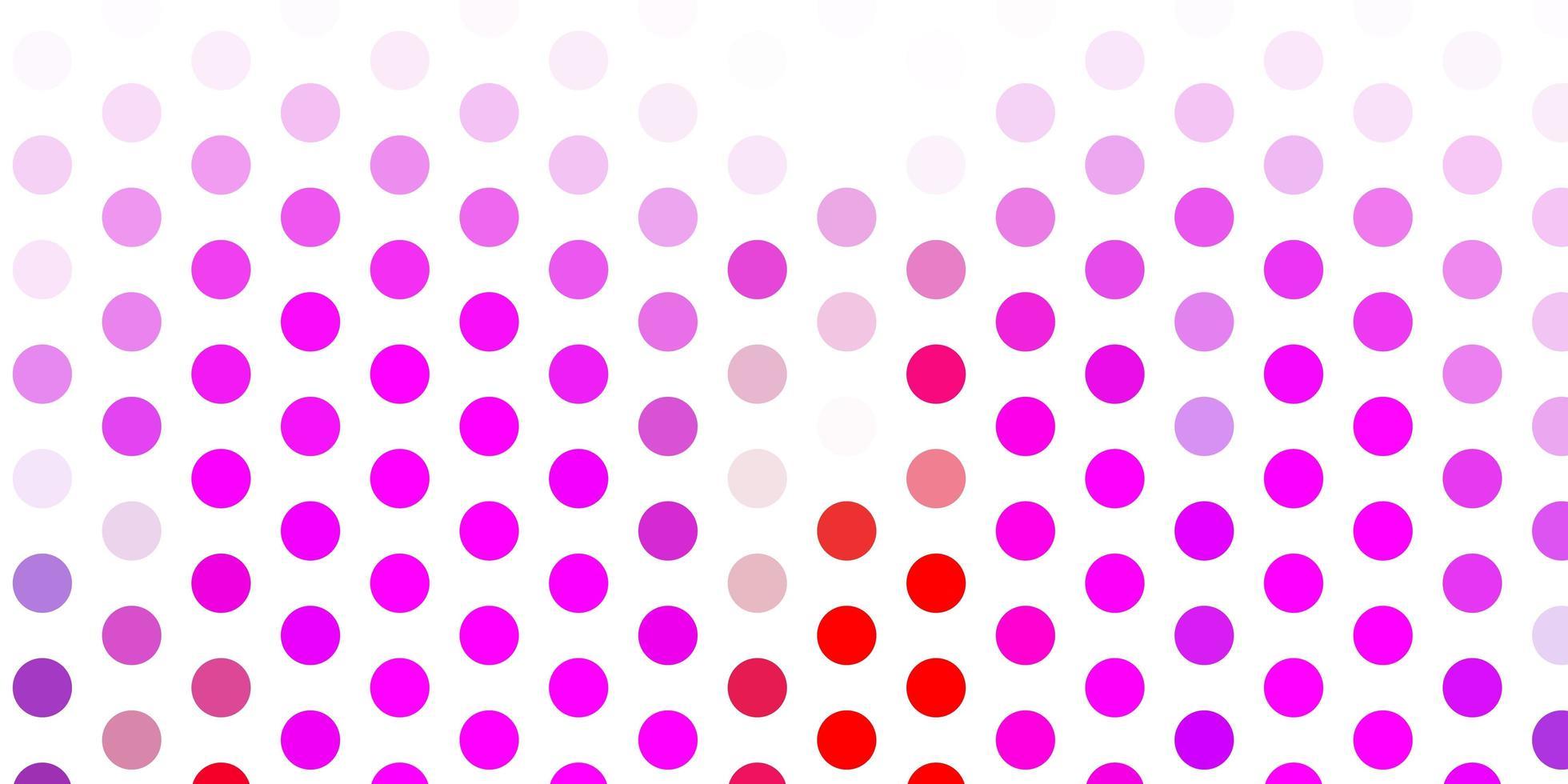 Fondo de vector rosa claro, rojo con manchas.