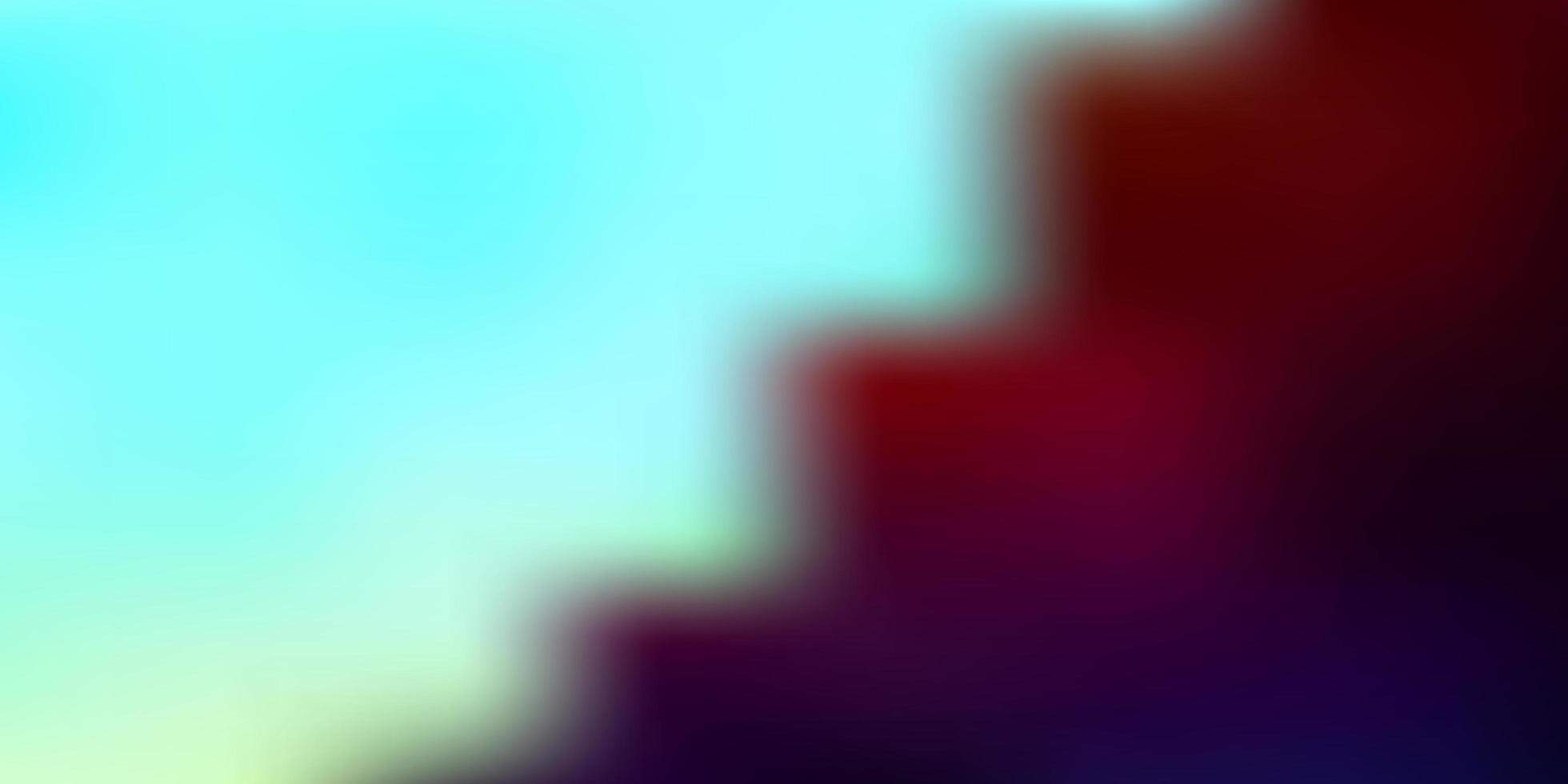 Light blue, red vector abstract blur layout.
