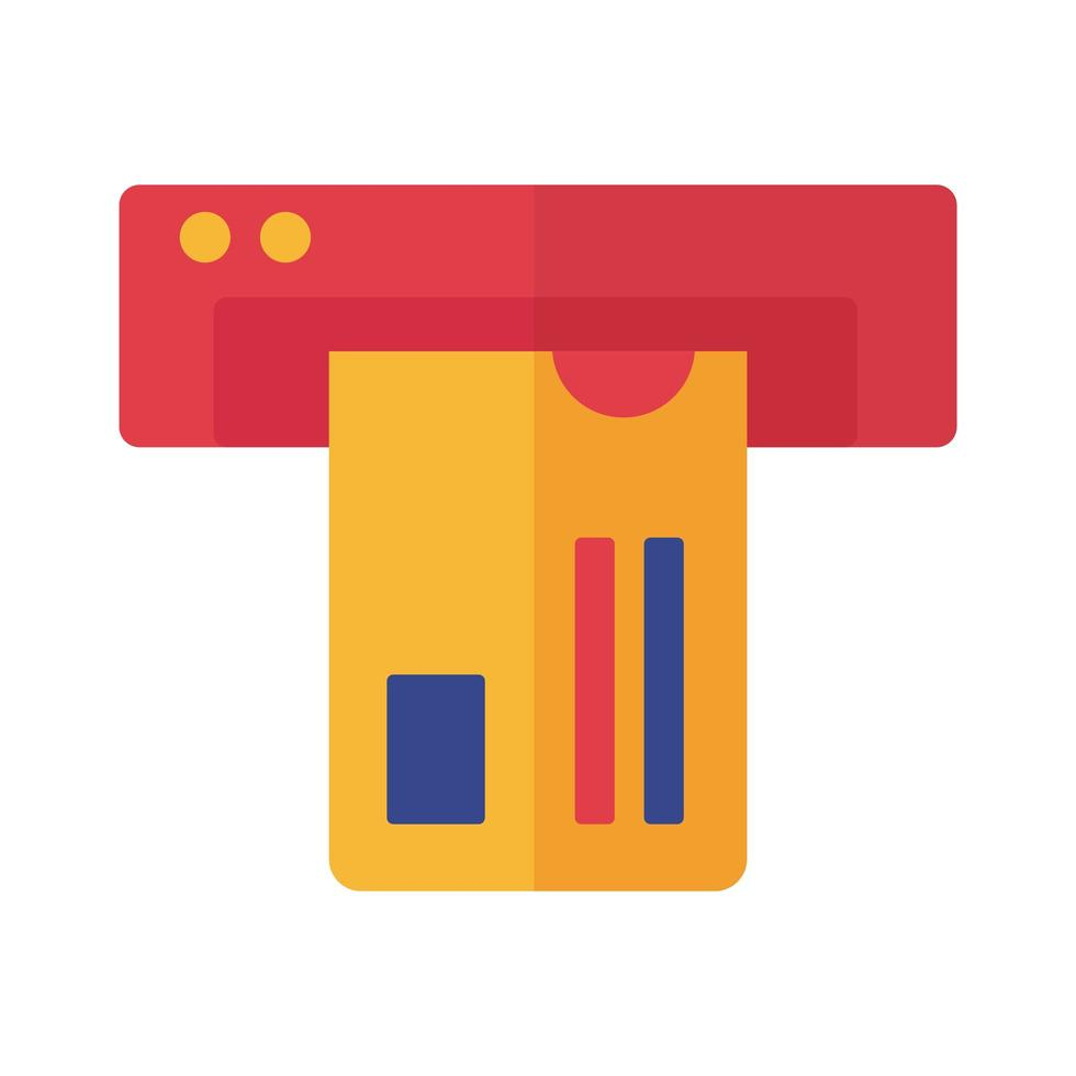 pago con tarjeta de crédito en línea estilo plano vector