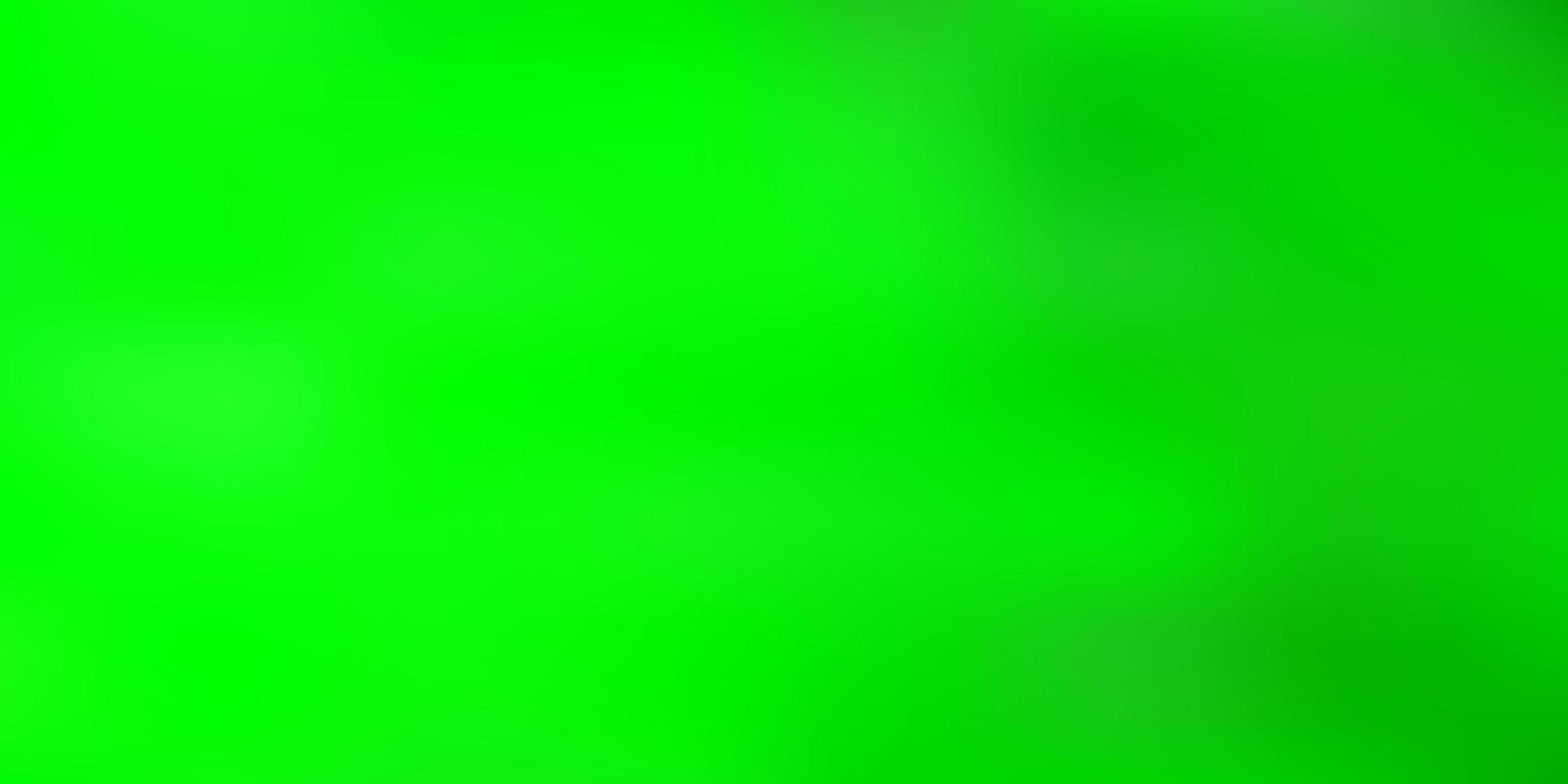 Light green vector gradient blur background.