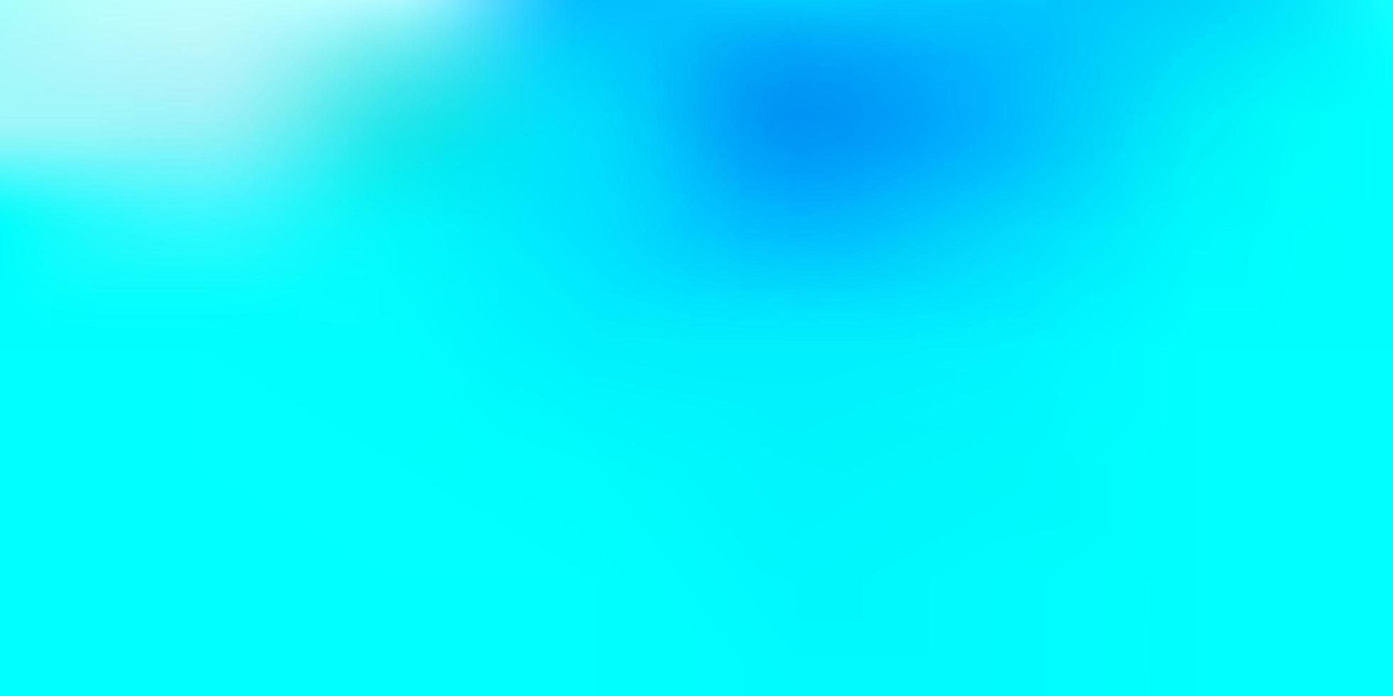 telón de fondo borroso vector azul claro.
