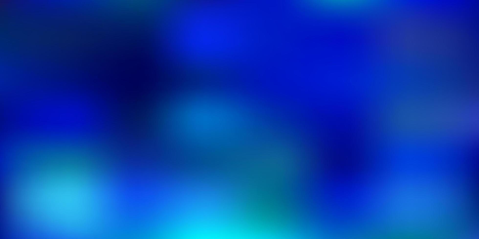 Light blue vector blurred pattern.