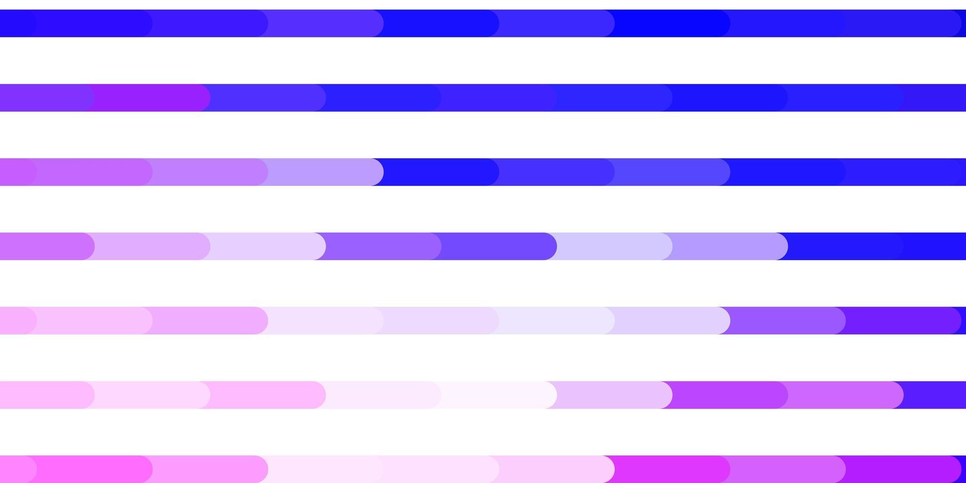 Fondo de vector púrpura claro con líneas.